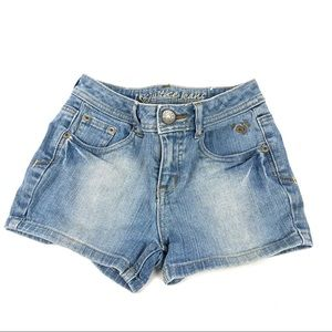 Justice for Girls Blue Denim Jean Shorts